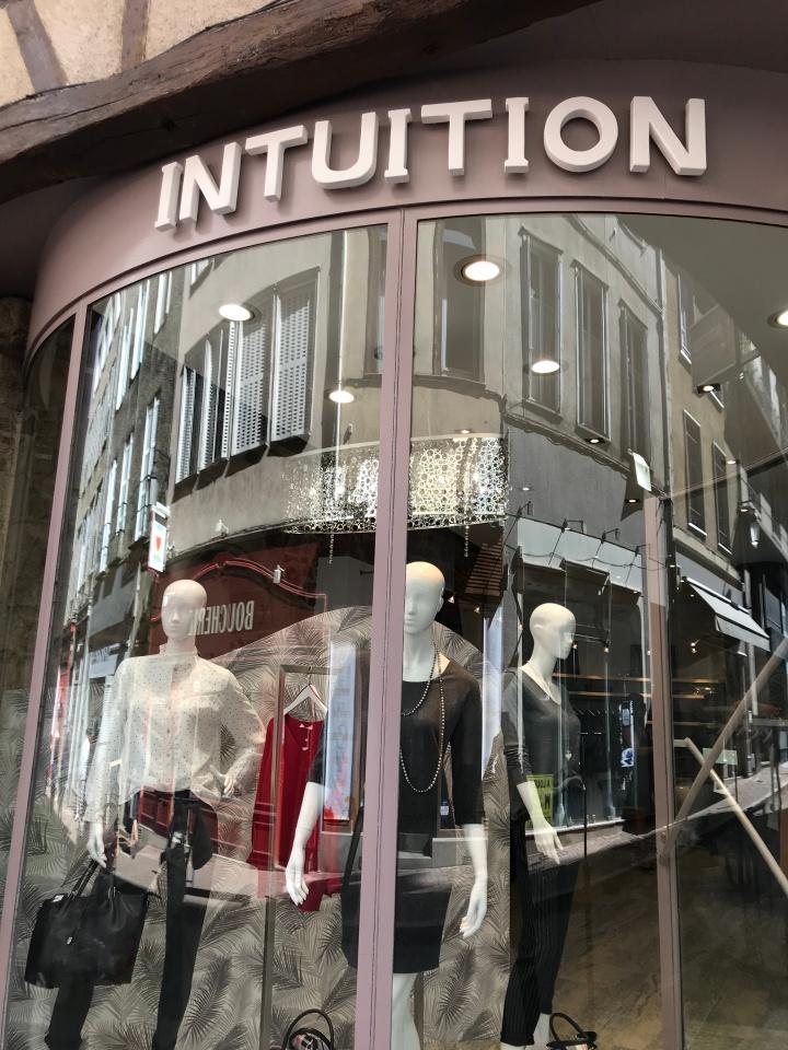 Intuition, plus qu'une boutique de vêtements!