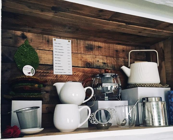 Au Tilleul Vert, vous prendrez bien un peu de thé?
