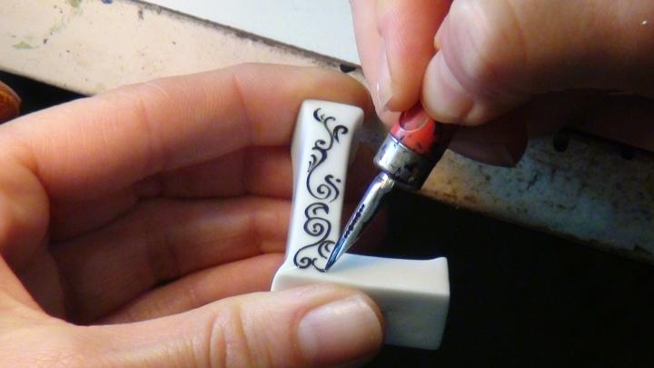 Dîtes-le avec des lettres… en porcelaine bien sûr!