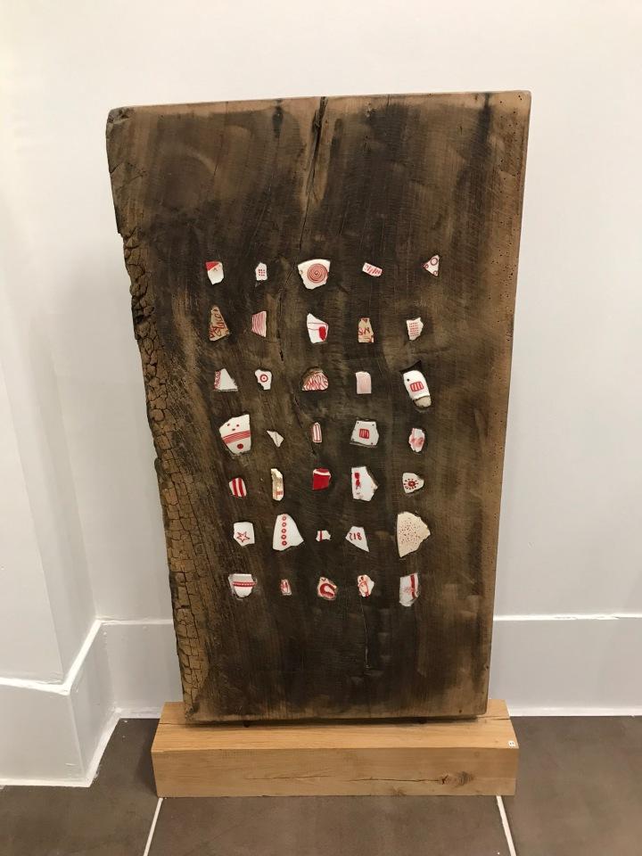 Porcelaine et bois : Exposition de Patrick Audevard à la librairieOccitane