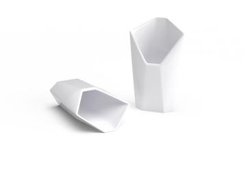 non sans raison porcelaine de limoges facette cornet copie